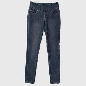 Jag Jeans Pull On High Rise Skinny Jeans Gray 2P